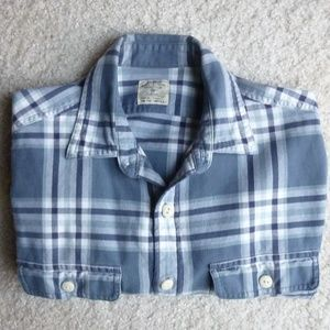 J Crew Men's soft flannel shirt - Small
